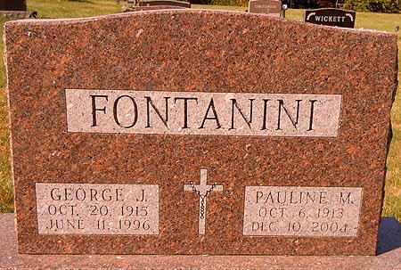 FONTANINI, GEORGE J. - Dallas County, Iowa   GEORGE J. FONTANINI