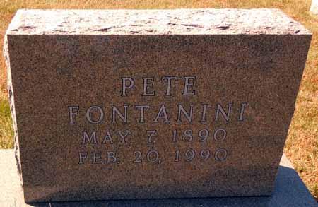 FONTANINI, PETE - Dallas County, Iowa | PETE FONTANINI
