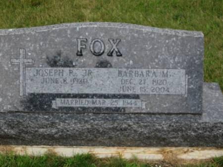 FOX, BARBARA  M. - Dallas County, Iowa | BARBARA  M. FOX