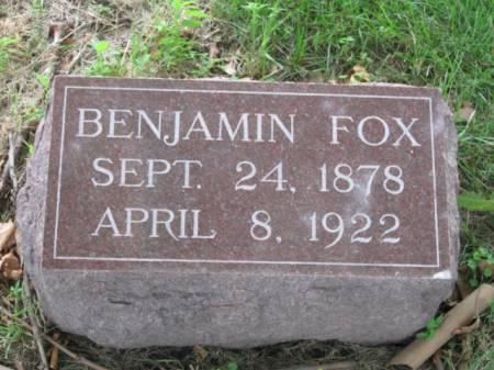FOX, BENJAMIN - Dallas County, Iowa | BENJAMIN FOX