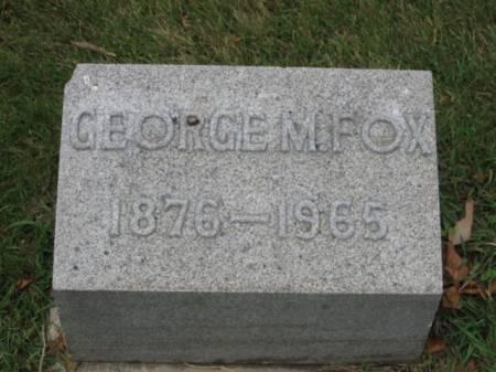 FOX, GEORGE   M. - Dallas County, Iowa | GEORGE   M. FOX