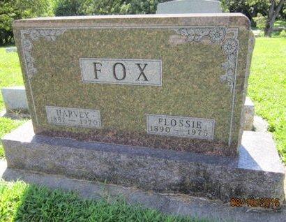 FOX, FLOSSIE - Dallas County, Iowa | FLOSSIE FOX
