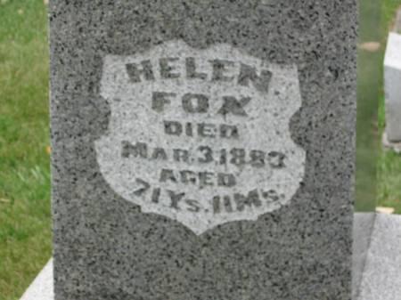 FOX, HELEN - Dallas County, Iowa | HELEN FOX