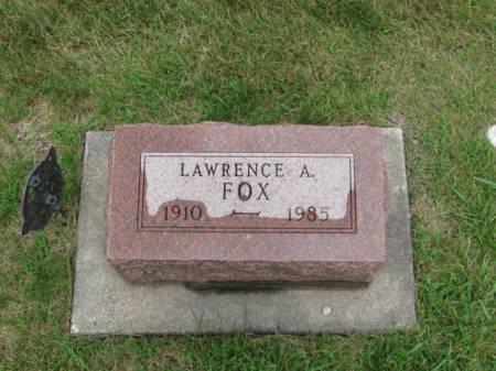 FOX, LAWRENCE  A. - Dallas County, Iowa | LAWRENCE  A. FOX