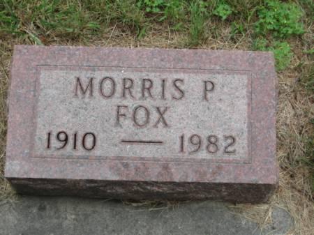 FOX, MORRIS P. - Dallas County, Iowa   MORRIS P. FOX