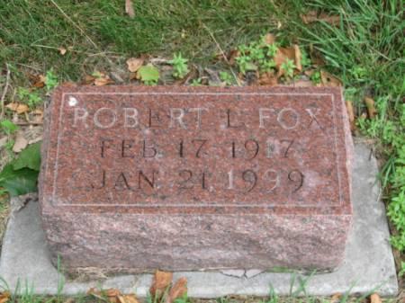 FOX, ROBERT   L. - Dallas County, Iowa | ROBERT   L. FOX