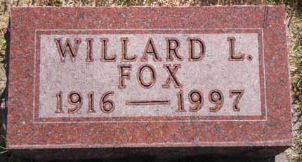 FOX, WILLARD L - Dallas County, Iowa | WILLARD L FOX