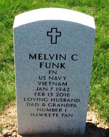 FUNK, MELVIN C - Dallas County, Iowa   MELVIN C FUNK