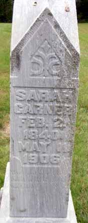 GARNER, SARAH - Dallas County, Iowa   SARAH GARNER