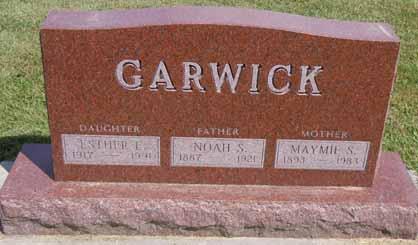 GARWICK, MAYMIE S - Dallas County, Iowa | MAYMIE S GARWICK