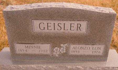 GEISLER, MINNIE - Dallas County, Iowa   MINNIE GEISLER