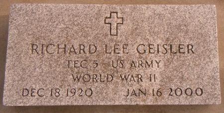GEISLER, RICHARD LEE - Dallas County, Iowa | RICHARD LEE GEISLER