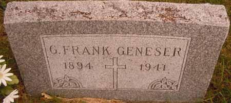 GENESER, G. FRANK - Dallas County, Iowa | G. FRANK GENESER