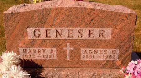 GENESER, HARRY J. - Dallas County, Iowa | HARRY J. GENESER
