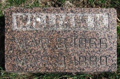 GEORGE, WILLIAM H. - Dallas County, Iowa   WILLIAM H. GEORGE
