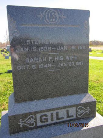 GILL, STEPHEN H - Dallas County, Iowa   STEPHEN H GILL
