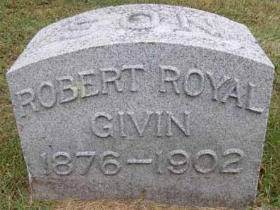GIVIN, ROBERT ROYAL - Dallas County, Iowa   ROBERT ROYAL GIVIN