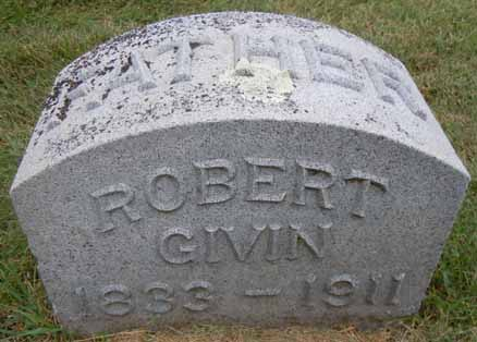 GIVIN, ROBERT - Dallas County, Iowa   ROBERT GIVIN