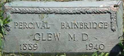 GLEW, PERCIVAL BAINBRIDGE - Dallas County, Iowa   PERCIVAL BAINBRIDGE GLEW