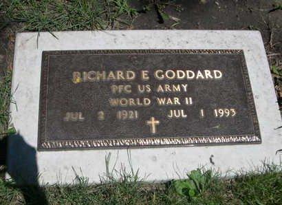 GODDARD, RICHARD E - Dallas County, Iowa | RICHARD E GODDARD