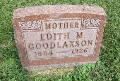 GOODLAXSON, EDITH M - Dallas County, Iowa | EDITH M GOODLAXSON