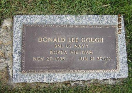 GOUGH, DONALD LEE - Dallas County, Iowa   DONALD LEE GOUGH