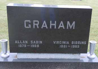 GRAHAM, ALLAN SABIN - Dallas County, Iowa | ALLAN SABIN GRAHAM
