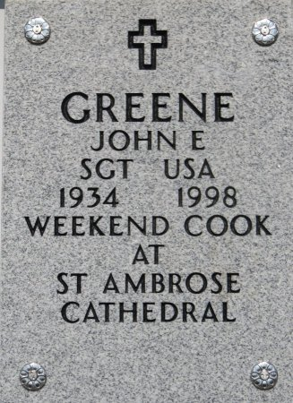 GREENE, JOHN E - Dallas County, Iowa | JOHN E GREENE