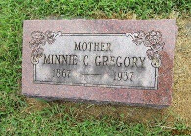 GREGORY, MINNIE C - Dallas County, Iowa | MINNIE C GREGORY