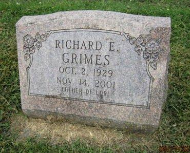 GRIMES, RICHARD E - Dallas County, Iowa   RICHARD E GRIMES