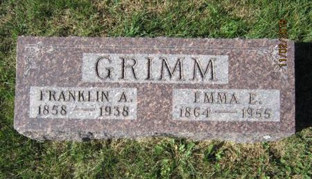 GRIMM, EMMA E - Dallas County, Iowa | EMMA E GRIMM