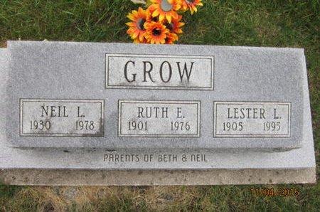 GROW, LESTER L - Dallas County, Iowa | LESTER L GROW