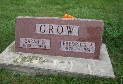 GROW, FREDRICK A - Dallas County, Iowa   FREDRICK A GROW