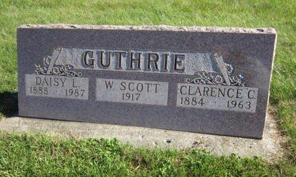 GUTHRIE, W SCOTT - Dallas County, Iowa   W SCOTT GUTHRIE