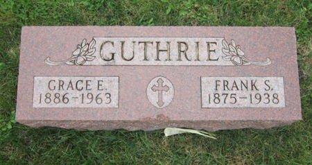 GUTHRIE, GRACE E - Dallas County, Iowa | GRACE E GUTHRIE