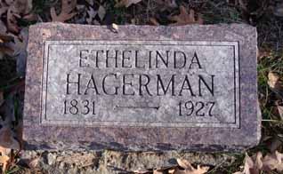 HAGERMAN, ETHELINDA - Dallas County, Iowa   ETHELINDA HAGERMAN
