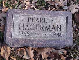 HAGERMAN, PEARL E - Dallas County, Iowa | PEARL E HAGERMAN