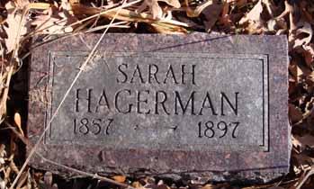 HAGERMAN, SARAH - Dallas County, Iowa   SARAH HAGERMAN