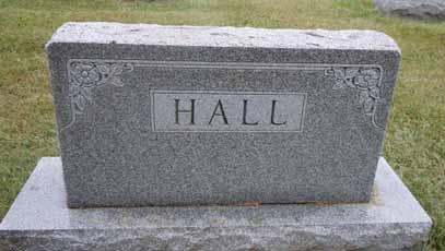 HALL, FAMILY STONE - Dallas County, Iowa   FAMILY STONE HALL