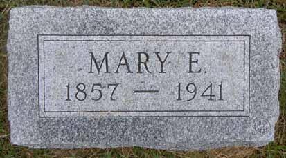 HALL, MARY E - Dallas County, Iowa | MARY E HALL