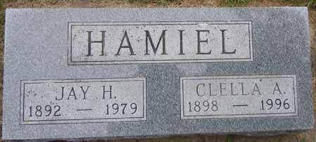 HAMIEL, CLELLA A - Dallas County, Iowa | CLELLA A HAMIEL