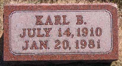 HANSON, KARL B - Dallas County, Iowa   KARL B HANSON