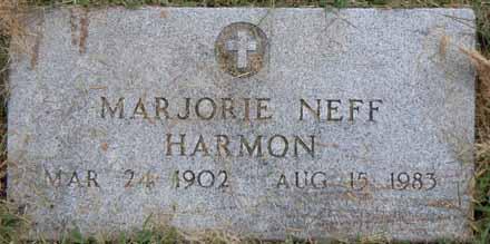 HARMON, MARJORIE - Dallas County, Iowa | MARJORIE HARMON
