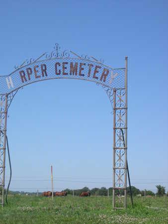 HARPER, CEMETERY - Dallas County, Iowa | CEMETERY HARPER
