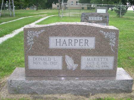 HARPER, DONALD L. - Dallas County, Iowa | DONALD L. HARPER