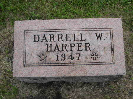 HARPER, DARRELL W. - Dallas County, Iowa | DARRELL W. HARPER