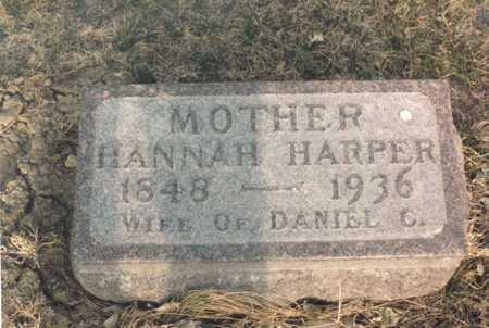 CHESTNUTWOOD HARPER, HANNAH - Dallas County, Iowa | HANNAH CHESTNUTWOOD HARPER