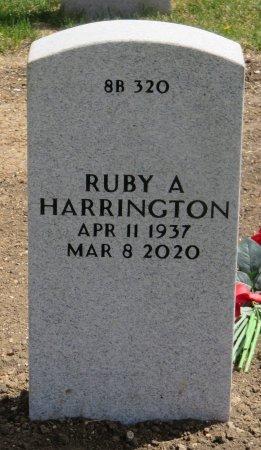 HARRINGTON, RUBY A - Dallas County, Iowa | RUBY A HARRINGTON