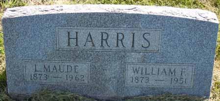 HARRIS, L MAUDE - Dallas County, Iowa   L MAUDE HARRIS