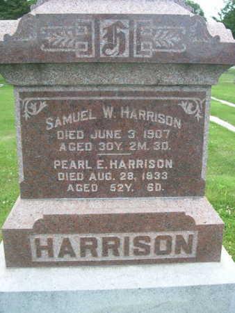 HARRISON, SAMUEL W. - Dallas County, Iowa | SAMUEL W. HARRISON